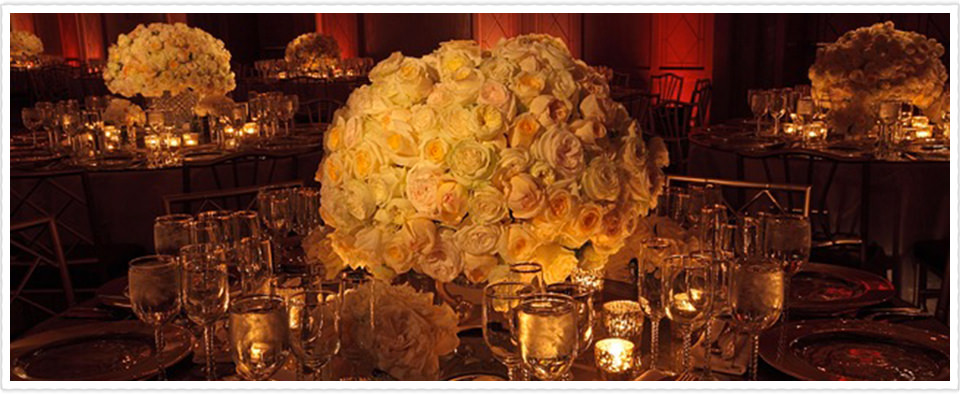 Floral Centerpiece by The Showplace